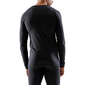 Craft Core Wool Merino Baselayer Set Herren black melange